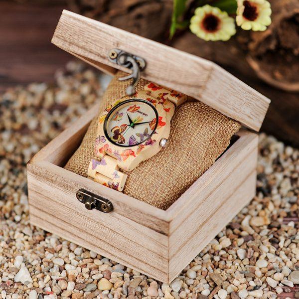 Bodo Bird Wooden Watch