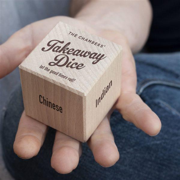 food takeaway dice