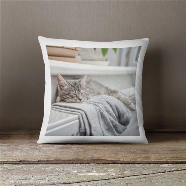Favourite Pet Photo Cushion