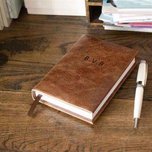 Tan-Personalised-5-Year-Diary