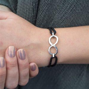 Infinity wrist band