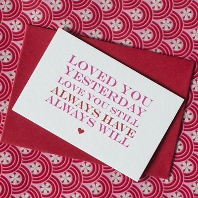 mini love quote cards